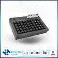 50 клавиш 4 Сегмент электронный ключ замки USB механический программируемый POS клавиатура с MSR считыватель магнитных карт KB50M