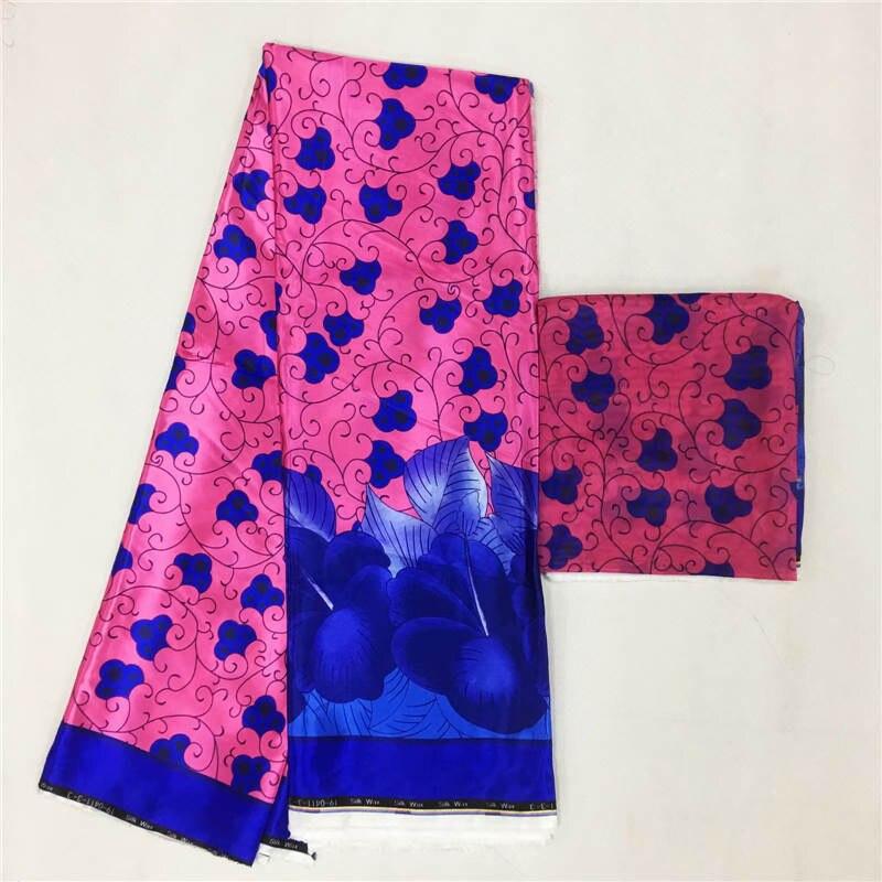 Imitated Silk wax silk chiffon fabric african fabric ankara african wax prints fabric 4+2yards ! J50851Imitated Silk wax silk chiffon fabric african fabric ankara african wax prints fabric 4+2yards ! J50851