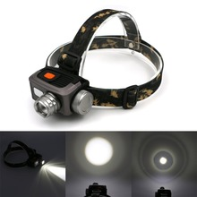 1800lm 3 Modes LED Headlight Headlamp Flashlight Frontal Lantern Zoomable Head Torch Light To Bike For Camping Hunting Fishing