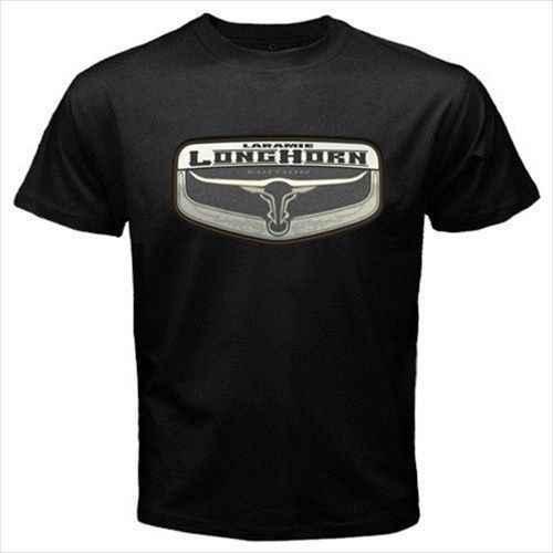 Limited Laramie Longhorn Dodge Ram Logo Mens Black T Shirt Size S 5xlmens Clothing T Shirts - hi clothing copiers roblox roblox shirt create shirts