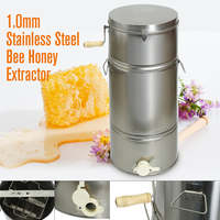 Beekeeping Tool Two 2 Frame Stainless Steel Manual Honey Extractor Beekeeping Equipment Bee Honey Extractor Bee Keeping