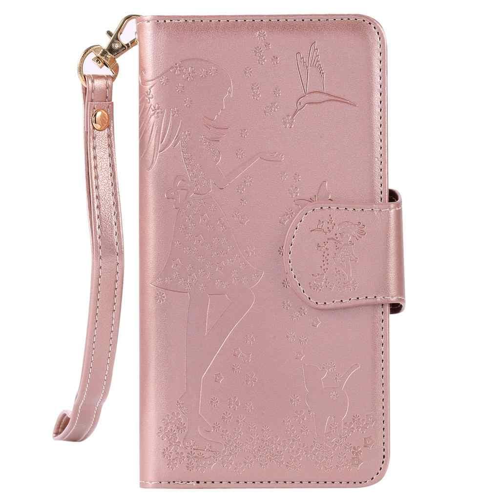 Nephy кожаный мягкий чехол для iPhone 6 s 6 S 7 8 плюс X 10 5 5S SE 5SE 6 плюс 6splus 7 плюс 8 плюс девочка Роскошный кошелек сотовый телефон чехол