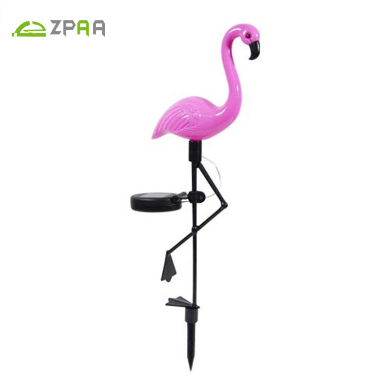 ZPAA Waterproof Solar Led Lights imitation Flamingo Lawn Lamp LED Solar Garden Light Outdoor For Garden Decoration Lighting ...