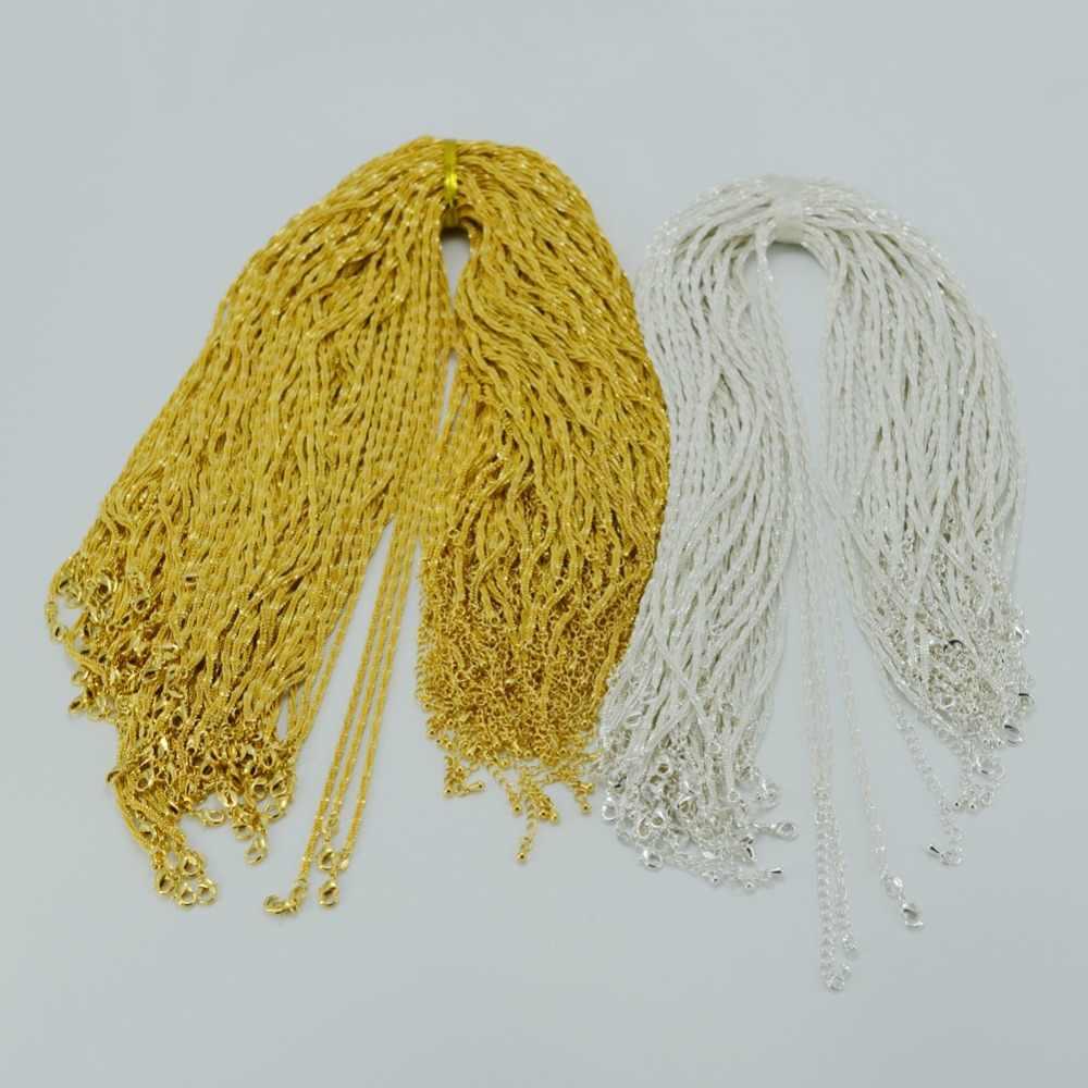 Anniyo 46 Cm + 5 Cm/Ethiopian Tradisional Kalung Rantai Warna Emas Afrika Perhiasan Eritrea Kalung Afrika Rantai #003501