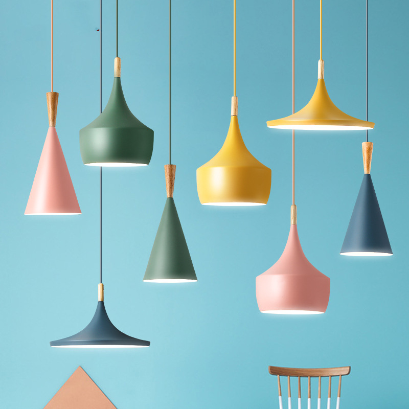 New  Copper Shade Musical Pendant Lamp ABC(Tall,Fat And Wide) Beat Light,E27 110V/220V/230V