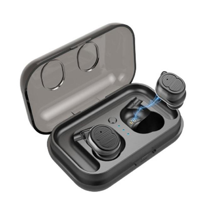 ca5c9998ef7 TWS-8 Touch Control Bluetooth 5.0 Earphones Waterproof True Wireless Earbuds  Mini Sport Earphone For
