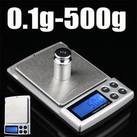 Promotion 0 1g 500g Digital Scales With LED Screen