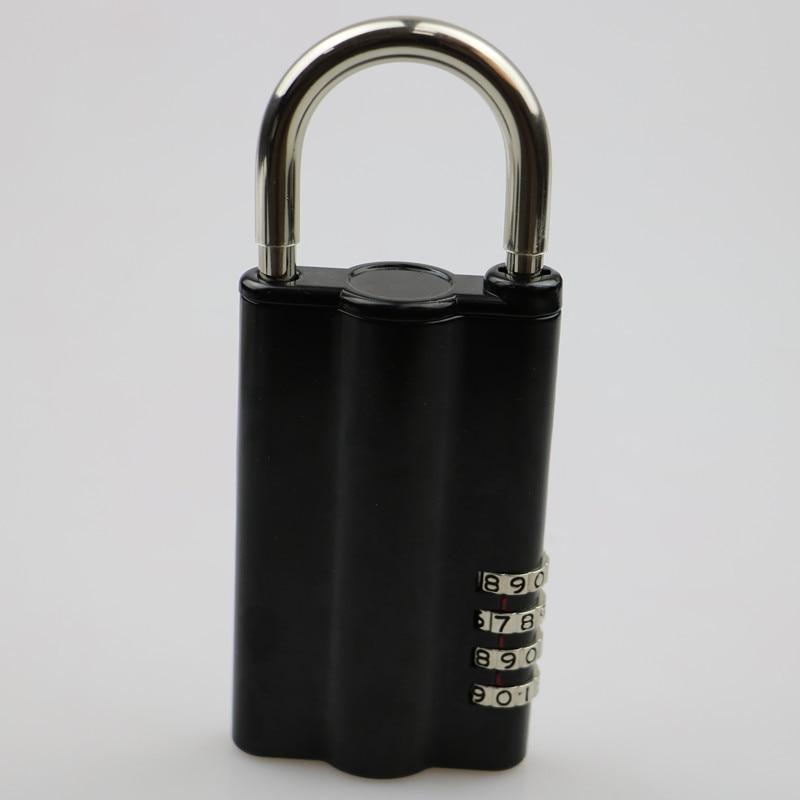 4-digital   Password Lock Key Safe Box Hidden Spare Key Safe Storage Organizer Box For Home Office Carvan Villa