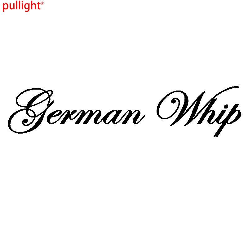 Windscreen Decal GERMAN WHIP  Funny Vinyl Car Sticker Window Body