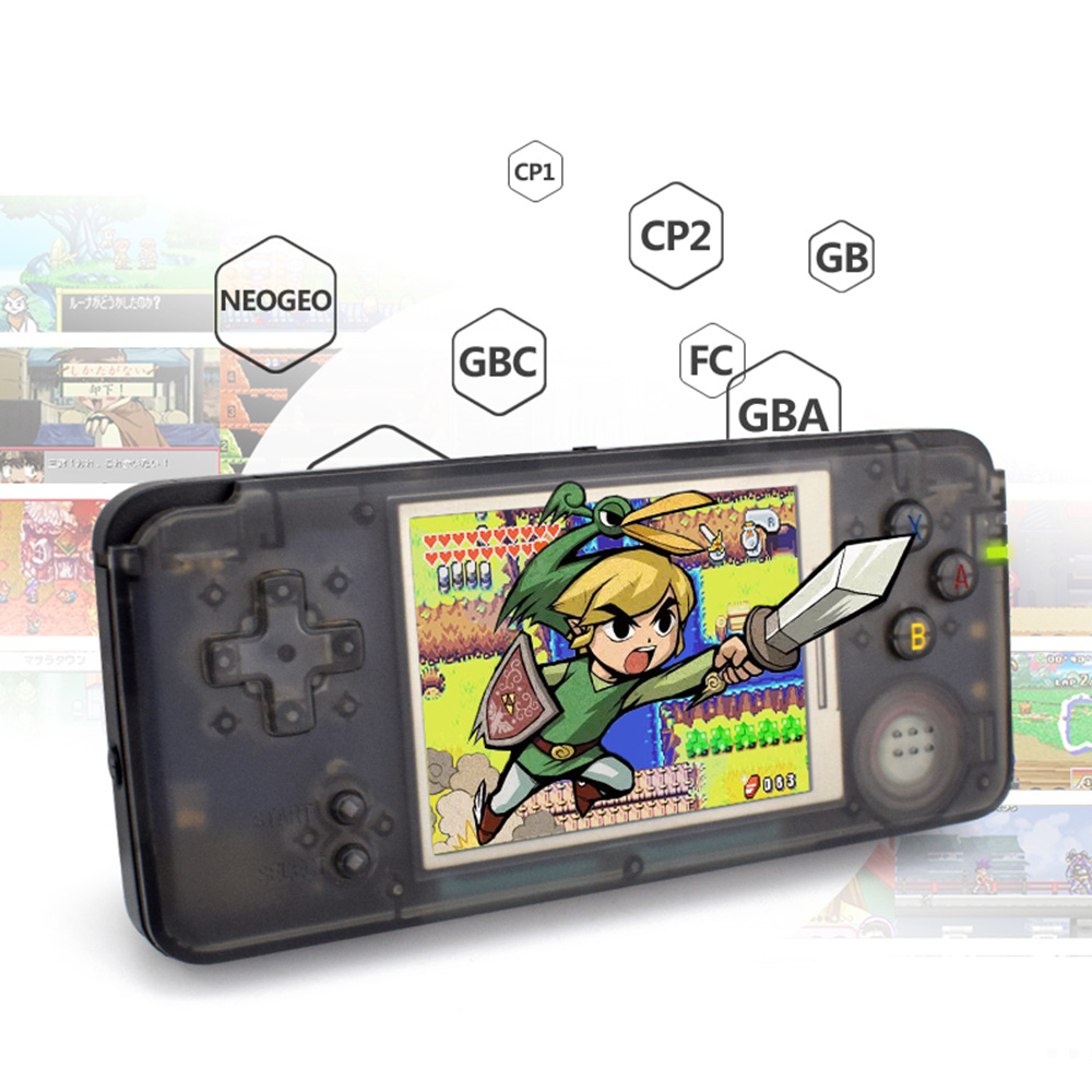 Retro Handheld Video Game Console 3.0 Inch Game Player Built-in 3000 Games 16G Support For NEOGEO GBC FC CP1 CP2 GB GBA Game