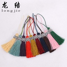 Longjie bookmark 10 colors invitations with small ears ear bag tassel customized wholesale Guangzhou factory direct