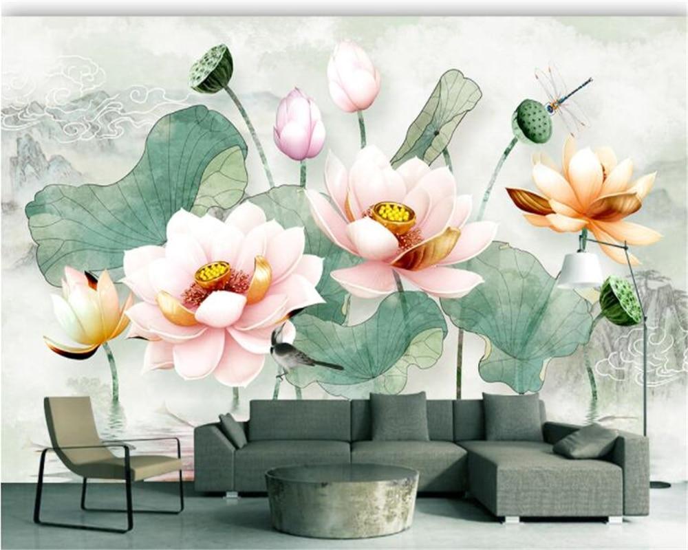 3d Hd Wallpapers Flowers Lotus
