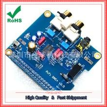 On sale Support the latest raspberry pie 2 raspberry pi B + 2B HIFI DAC + sound card I2S interface