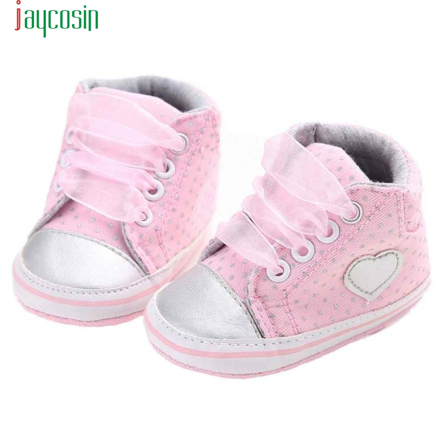 Girl Canvas Shoe Baby Boys Shoes Sneaker Anti-slip Soft Sole Toddler Jan20