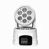 Free Fast Shipping Best Quality LED Moving Head Mini Wash 7x12w RGBW Quad With Advanced 14