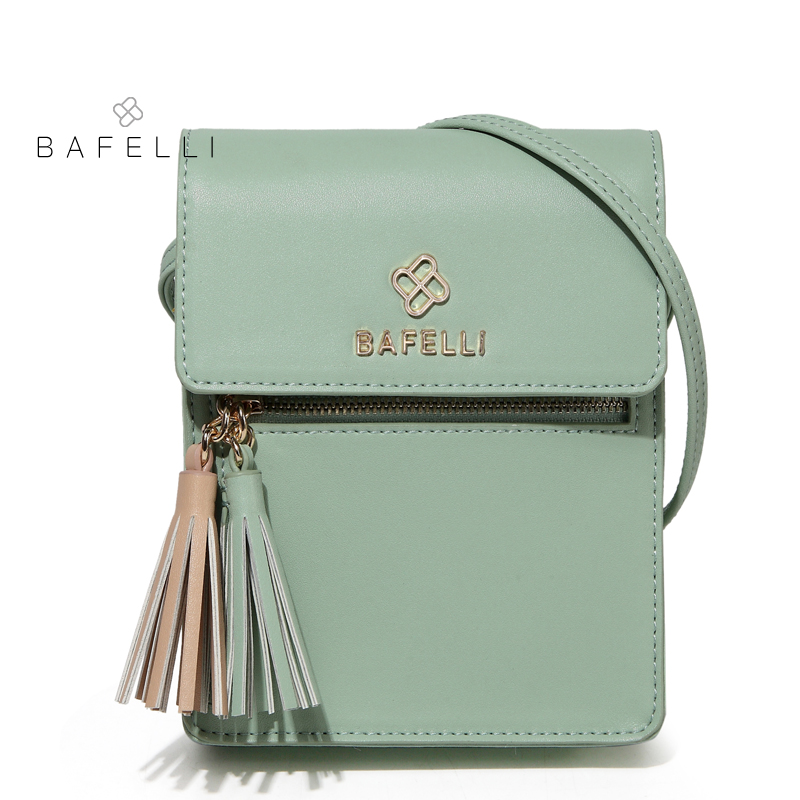 BAFELLI women vintage shoulder bags split leather tassel phone bag for  women crossbody bags white 6 colors womens messenger bag 7669e15dd50a3