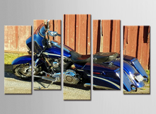 5 Piece Canvas Art Printing Photo Spray Painting Custom Print On Wall Pictures Home Decoration Frame
