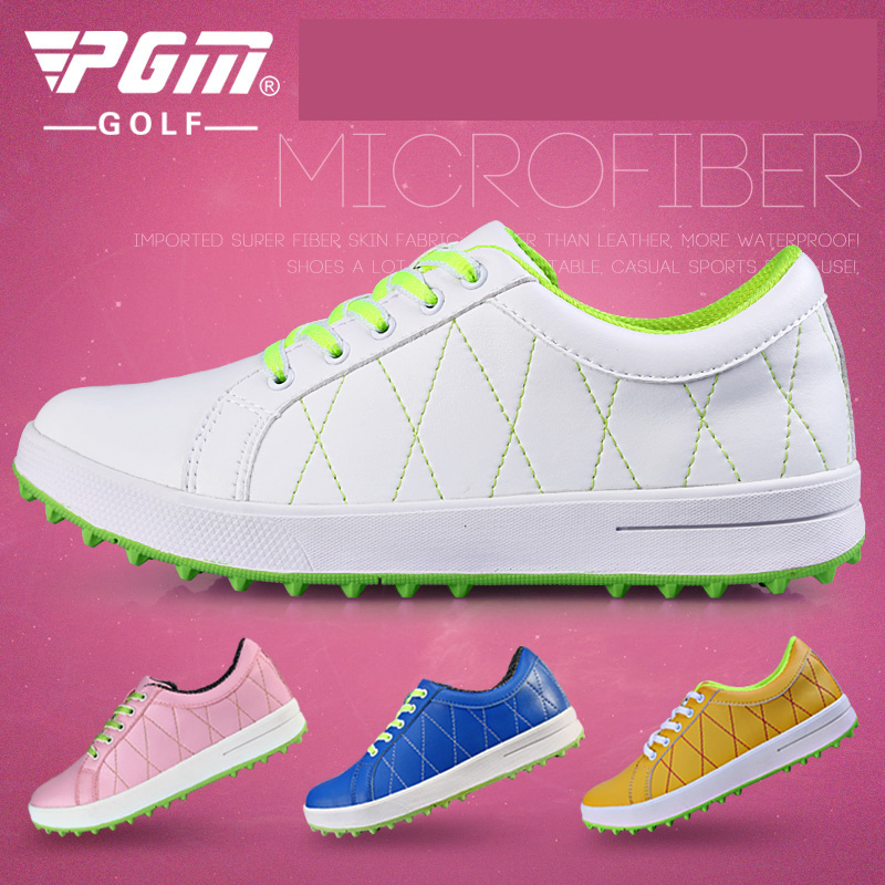 2015 counter genuine pgm ladies golf shoes sports shoes