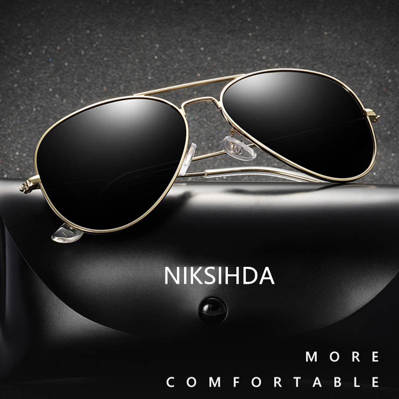 NIKSIHDA 2019 New European and American Classic Popular Metal Glasses Toad Sunglasses Fashion Driving Sunglasses UV400 image