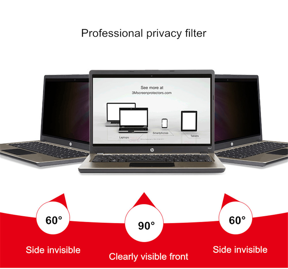 22 inch Privacy Filter LCD Screen Protective film for 16:10 Widescreen Computer 18 11/16  wide x 11 5/8  high (474mm*296mm)
