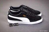 a92bac18c3d PUMA Suede Classic Men s Sneakers Classic Basket Suede Tone Simple Badminton  Shoes Size40-44