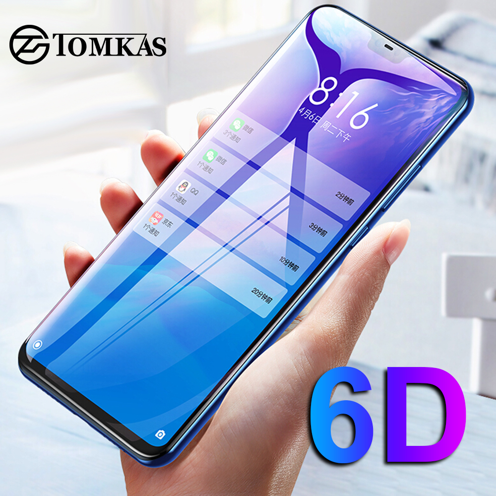 Image 2 - TOMKAS 6D Glass For Xiaomi Redmi Note 7 6 5 Pro Glass Redmi 6 6A 5 Plus For Xiaomi Mi 9 8 Lite CC9E A1 A2 A3 Lite Pocophone F1-in Phone Screen Protectors from Cellphones & Telecommunications