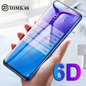 Image 2 - Tomkas 6D Kính Cường Lực Cho Xiaomi Redmi Note 9 8 7 6 5 Kính Cường Lực Pro Glass Redmi 6 6A 5 Plus xiaomi Mi 9 9T Pro 8 Lite A2 Lite Pocophone F1