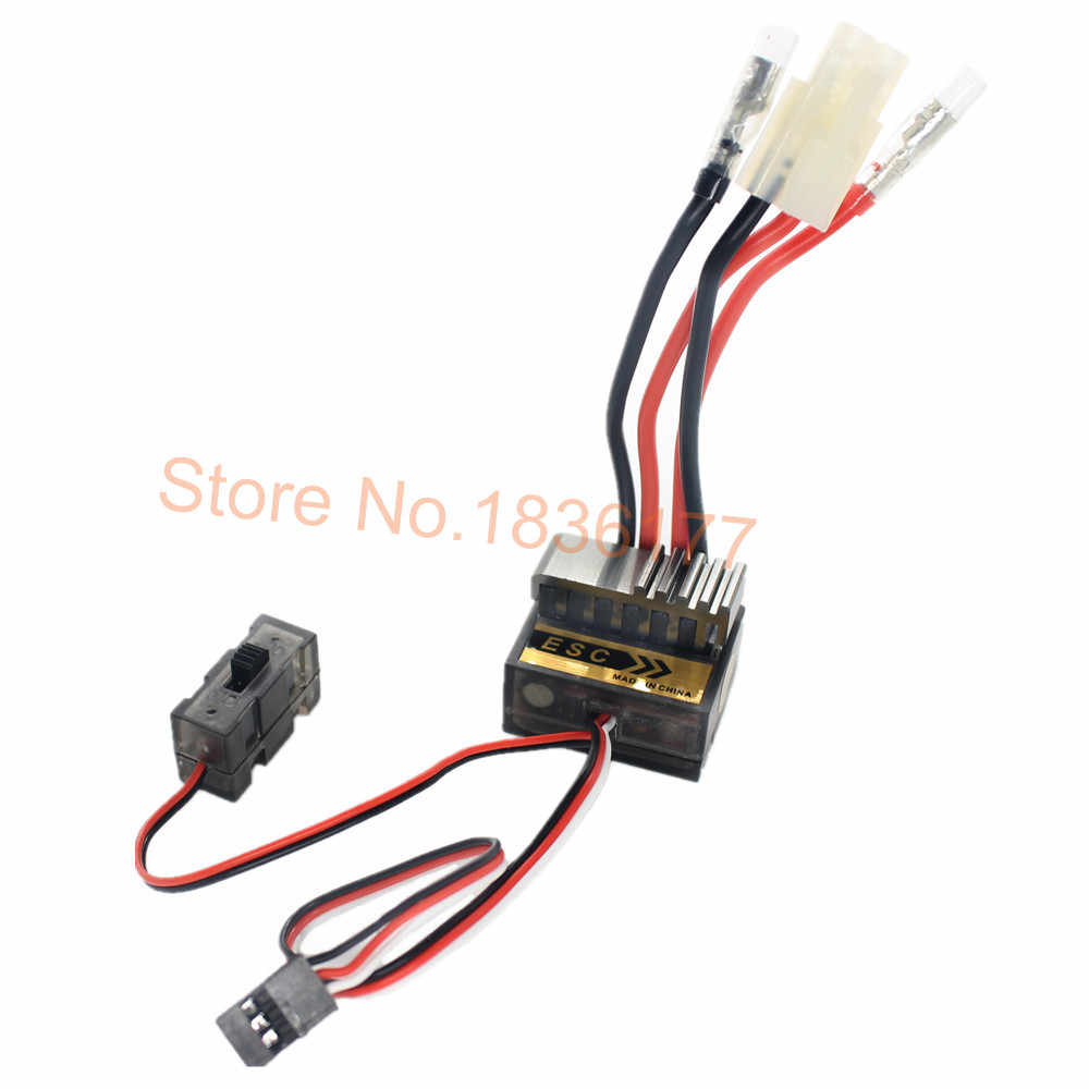 5 stücke Pinsel Brushed Speed Controller 320A ESC mit Umge RC HSP 1/10 1/8 Auto Monster Truck Buggy Truggy himoto Redcat