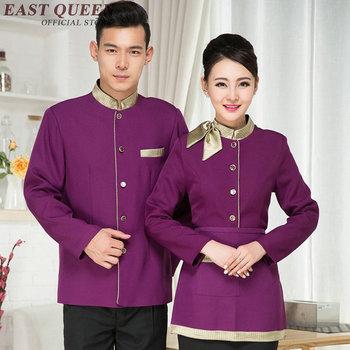 Camarero uniforme restaurante camarera uniforme servicio de comida hotel restaurante ropa NN0007