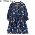Милан творения новорожденных девочек платье 2015 весна марка детей платье принцессы костюм Carretto Siciliano детей платья для девочек
