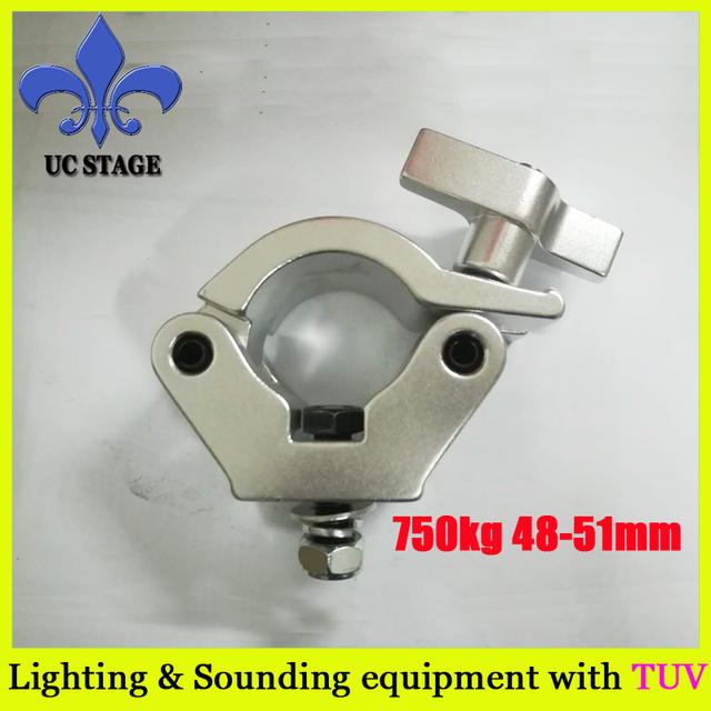 global X-Pro truss clamp 750kg loading fit 50mm tube stage light hook clamp