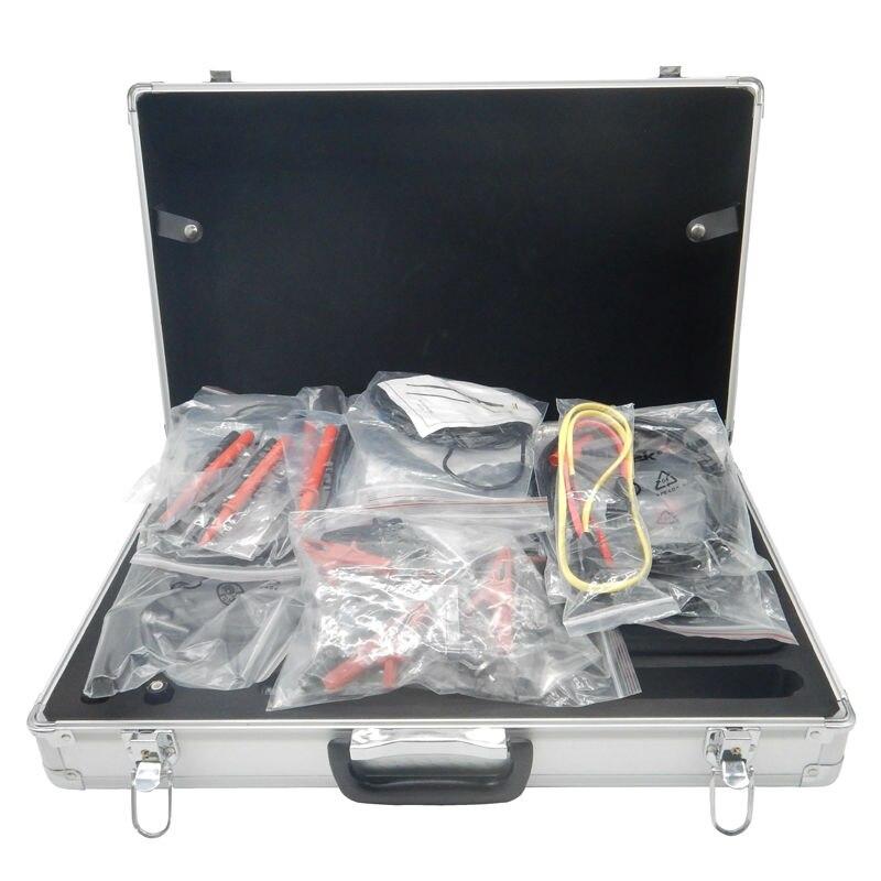 Digital Hantek DSO3064 Automotive Diagnostic Oscilloscope 4CH 200MS/s 60MHz 10k--16M USB 2.0 DSO3064 KIT V with big Aluminum box new 1pcs dso138 2 4 tft digital oscilloscope kit diy parts 1msps with probe