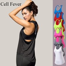 Sexy Women Yoga Vest Backless Gym Fitness Sport Tank Tops Sleeveless Training Shirts Sportswear Quick Dry Shirt Running Top все цены