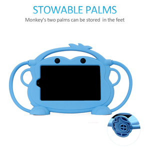 "Image 5 - CHINFAI funda de transporte para Kindle Fire 7 ""2015 de 2017, chico de silicona a prueba de golpes a prueba lavable funda para Kindle Fire 7 con correa del coche"