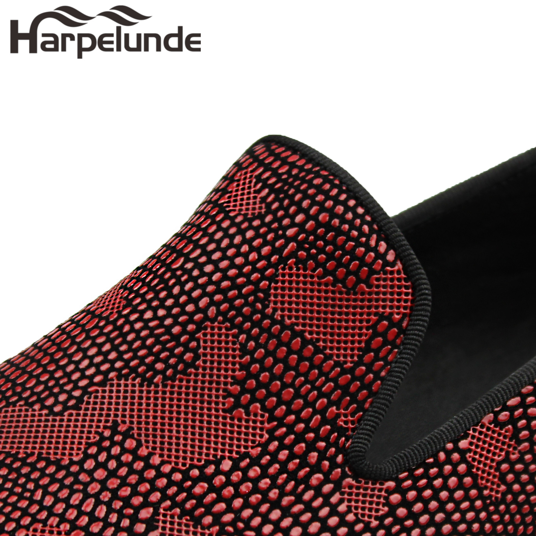Harpelunde Slip On Leather Men Dress Shoes Snake Paisly Loafers in Formal Shoes from Shoes