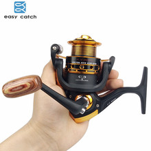 Easy Catch 13BB Ball Bearings Matte Black Fishing Reels China Metal Saltwater Fishing Spinning Reel AX2000-3000