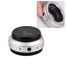 Sliver JY-43F MMF-1 Lens Adapter Ring Auto Focus For OM 4/3 Lens To Micro 4/3 M4/3 E-P3 E-PL3 E-PM1 E-PL2 E-PL1 E-P2 E-P1