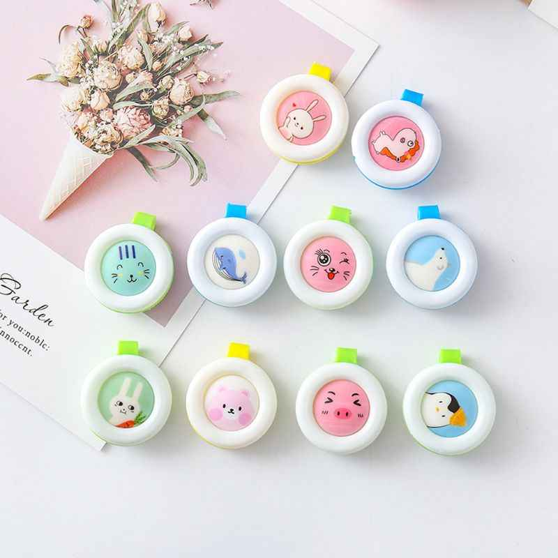 Summer Outdoor Mosquito Repellent Button Baby Kids Buckle Anti-mosquito Child Repellent Reject Adults Protection Random delivery