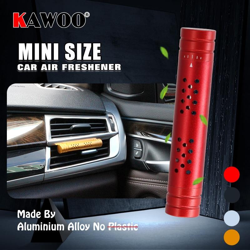 KAWOO Car AC Outlet Air Freshener Perfume Diffuser Solid Fragrance Accessories For Ssangyong Rexton Kyron Actyon Korando Tivoli