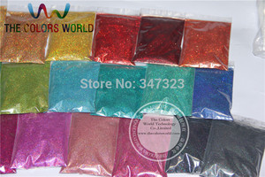 Image 3 - 24 Laser Holographic Colors 0.1MM  fine Glitter Powder for nail decoration and others DIY Accessories