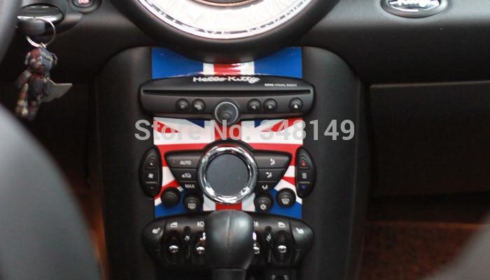Aliauto Car-styling Decorazione interna Centro Console Adesivi e decalcomanie Accessori per Mini Cooper Countryman R50 R52 R53 R58