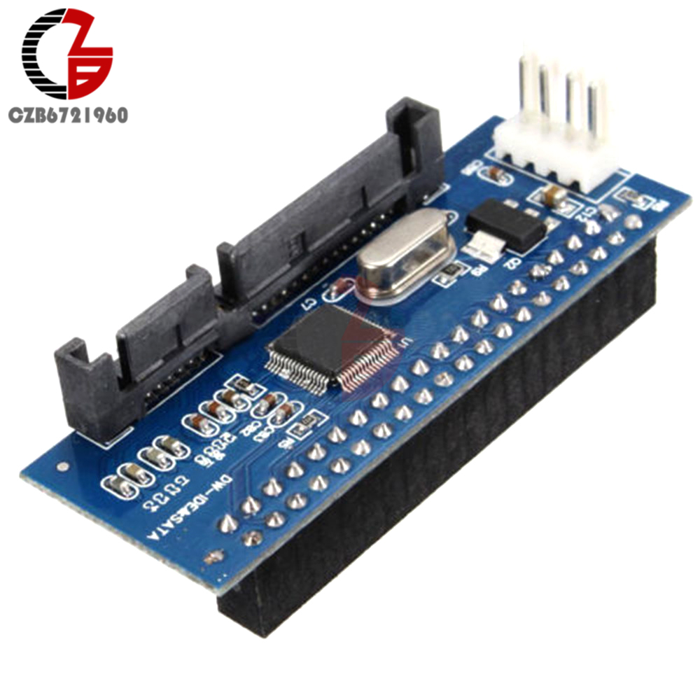 New 22pin SATA Male to IDE PATA 40Pin Female JM20330 Adapter SATA-IDE Converter Connector Board цена и фото