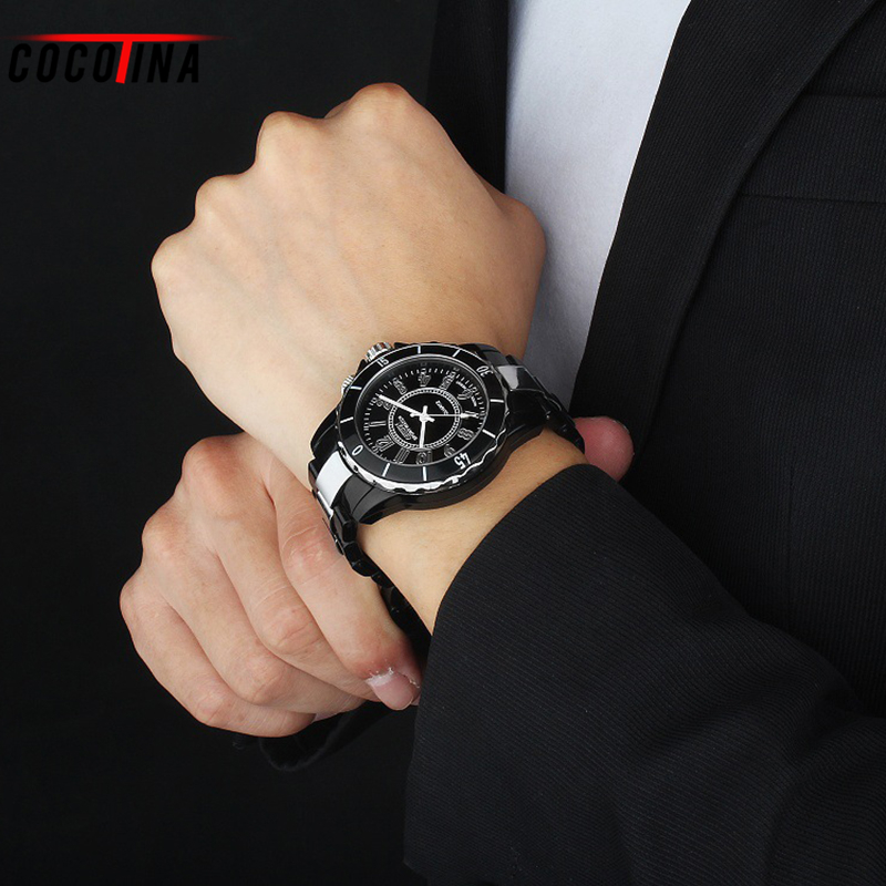 COCOTINA Luxury Mens Wrist Watch LED Black Stainless Steel Analog Sport Military Wrist Watch Men Clock HL0518 круизер ridex 22x6 abec 7 chrome jungle