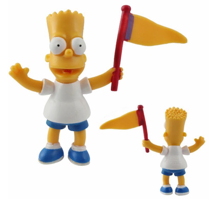 Image 2 - 14 pz/set Figura Simpson Collection giocattoli action figure  decorazione Brinquedos Anime bambini giocattoli vendita al dettaglio-in  Action figure e personaggi giocattolo da Giocattoli e hobby su