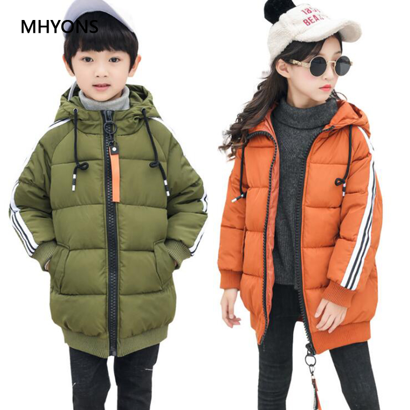 2018 New Fashion Boys Winter Coats Jacket Kids Zipper Jackets Boys Thick Jacket High Quality Girls Winter Warm Coat Kids Clothes цена
