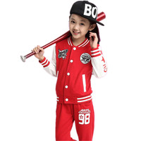 Autumn Winter Boy Girl Coat Pants Set Toddler Tracksuit Children Clothing Casual Baby Sets Infantil Fashion