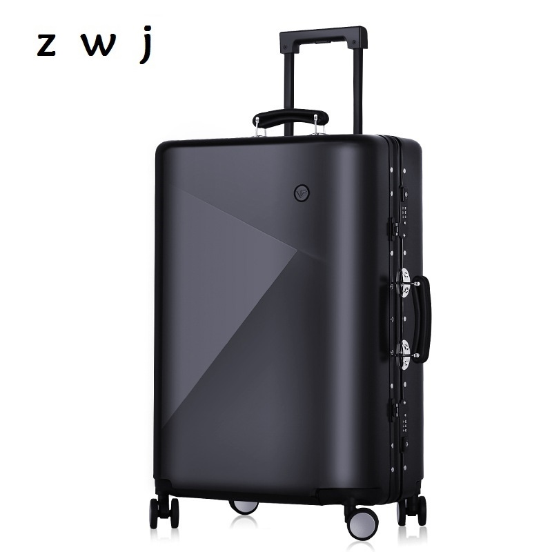 Luggage & Travel Bags Rolling Luggage Travel Tale 20 24 29 Aluminum Frame Spinner Hand Luggage Kinder Trolley With Wheels Free Shipping Available In Various Designs And Specifications For Your Selection