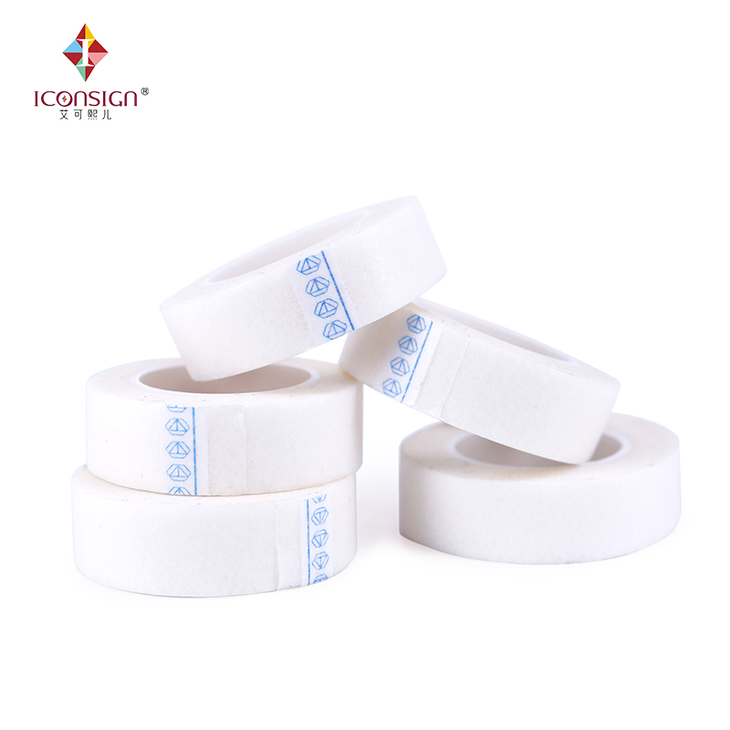 10 шт./лот белый приятный мягкий бумаги материал нетканый Ленты Сильный stick медицинской ленты для наращивания ресниц