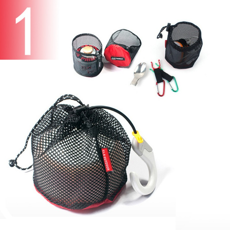 5pcs/set Picnic bag Travel Drawstring Storage Bag Mesh Gadgets Organizer Outdoor Camping Accessories5pcs/set Picnic bag Travel Drawstring Storage Bag Mesh Gadgets Organizer Outdoor Camping Accessories