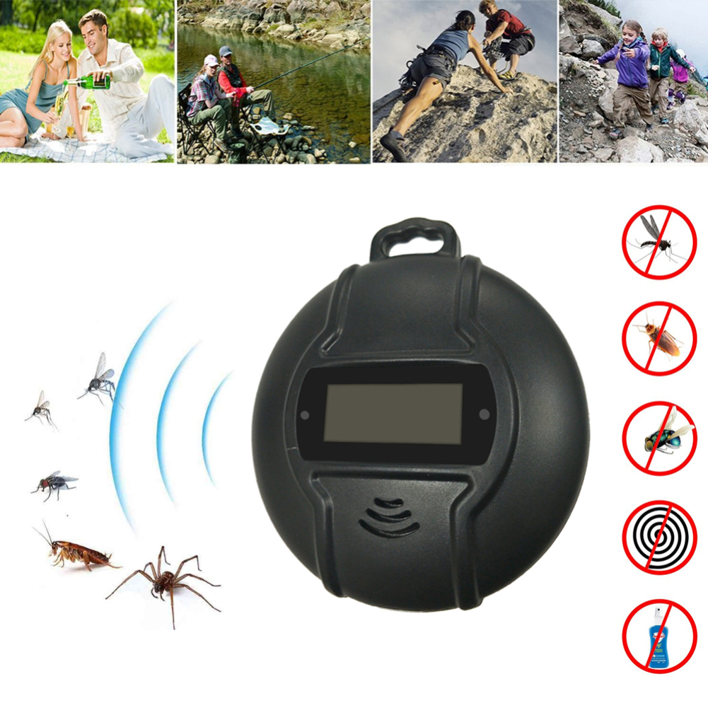 Outdoor Portable Solar Mosquito Repellent Ultrasonic Mosquito Pest Fly Insect Repellent Summer Outdoor EssentialOutdoor Portable Solar Mosquito Repellent Ultrasonic Mosquito Pest Fly Insect Repellent Summer Outdoor Essential